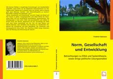 Norm, Gesellschaft und Entwicklung kitap kapağı
