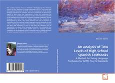 Buchcover von An Analysis of Two Levels of High School Spanish Textbooks