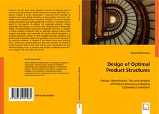 Bookcover of Design of Optimal Product Structures