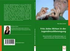 Buchcover von Fritz Jödes Wirken in der Jugendmusikbewegung