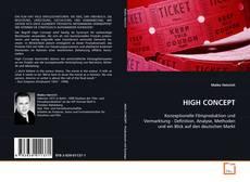 Buchcover von HIGH CONCEPT
