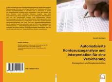 Couverture de Automatisierte Kontoauszuganalyse und Interpretation für eine Versicherung