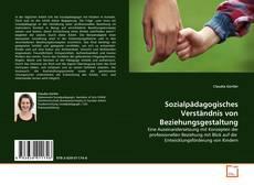 Sozialpädagogisches Verständnis von Beziehungsgestaltung kitap kapağı
