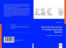 Обложка External Intervention in Foreign Exchange Markets