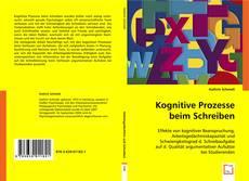 Buchcover von Kognitive Prozesse beim Schreiben