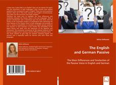 The English and German Passive kitap kapağı