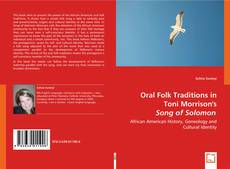 Oral Folk Traditions in Toni Morrison's Song of Solomon kitap kapağı