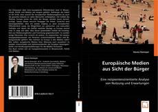 Capa do livro de Europäische Medien aus Sicht der Bürger