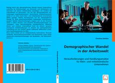 Buchcover von Demographischer Wandel in der Arbeitswelt