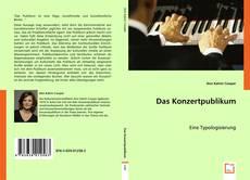 Copertina di Das Konzertpublikum
