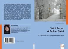Saint Petka: A Balkan Saint kitap kapağı