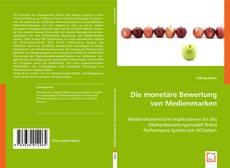 Capa do livro de Die monetäre Bewertung von Medienmarken