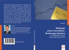 Copertina di Redesign eines Frontoffice-Brokerage-Systems