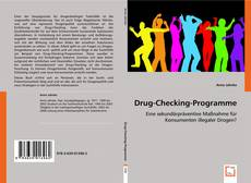 Buchcover von Drug-Checking-Programme