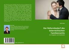 Bookcover of Der Reformbedarf des österreichischen Familienrechts