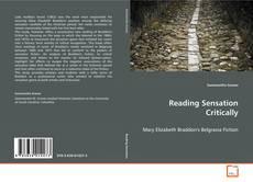 Couverture de Reading Sensation Critically