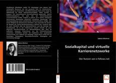 Bookcover of Sozialkapital und virtuelle Karrierenetzwerke