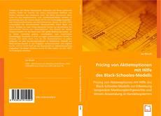Copertina di Pricing von Aktienoptionen mit Hilfe des Black-Schooles-Modells