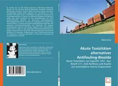 Copertina di Akute Toxizitäten alternativer Antifouling-Biozide