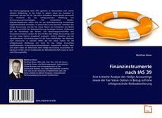 Bookcover of Finanzinstrumente nach IAS 39