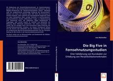 Bookcover of Die Big Five in Fernsehnutzungsstudien