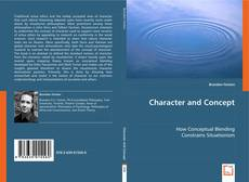 Couverture de Character and Concept
