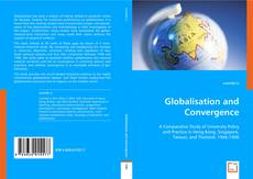 Bookcover of Globalisation and Convergence
