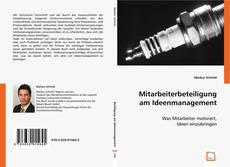 Buchcover von Mitarbeiterbeteiligung am Ideenmanagement