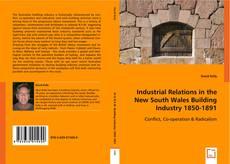 Portada del libro de Industrial Relations in the New South Wales Building Industry 1850-1891