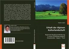 Buchcover von Erhalt der Alpinen Kulturlandschaft