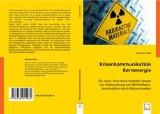 Borítókép a  Krisenkommunikation Kernenergie - hoz