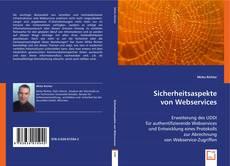 Copertina di Sicherheitsaspekte von Webservices