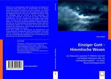 Bookcover of Einziger Gott - Himmlische Wesen