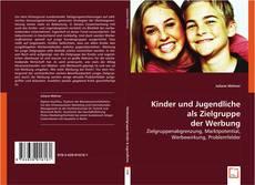 Bookcover of Kinder und Jugendliche als Zielgruppe der Werbung