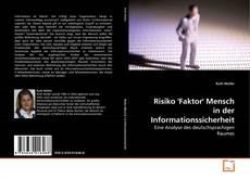Buchcover von Risiko 'Faktor' Mensch in der Informationssicherheit