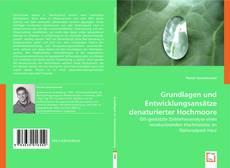 Capa do livro de Grundlagen und Entwicklungsansätze denaturierter Hochmoore