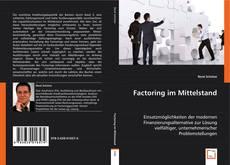 Capa do livro de Factoring im Mittelstand