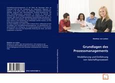Buchcover von Grundlagen des Prozessmanagements