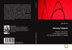 Bookcover of Missing Subjects