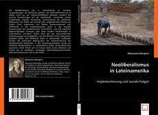 Neoliberalismus in Lateinamerika kitap kapağı