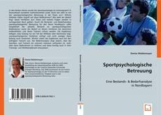 Portada del libro de Sportpsychologische Betreuung
