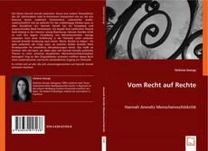 Buchcover von Vom Recht auf Rechte