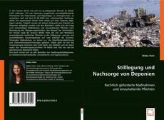 Capa do livro de Stilllegung und Nachsorge von Deponien