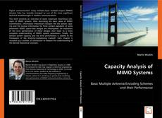 Bookcover of Capacity Analysis of MIMO Systems