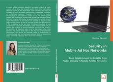 Bookcover of Security in Mobile Ad Hoc Networks