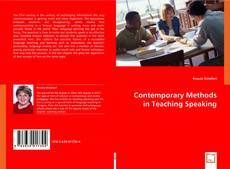 Bookcover of Contemporary Methods in Teaching Speaking