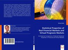 Buchcover von Statistical Properties of Real Financial Markets and Virtual Prognosis Markets