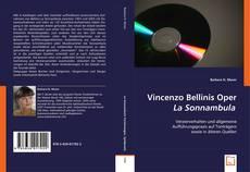 Bookcover of Vincenzo Bellinis Oper La Sonnambula