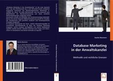 Обложка Database Marketing in der Anwaltskanzlei