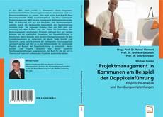 Обложка Projektmanagement in Kommunen am Beispiel der Doppikeinführung